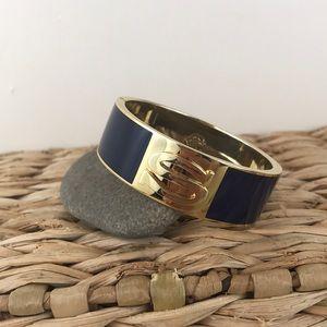 C. Wonder Letter S Cuff Bangle Bracelet